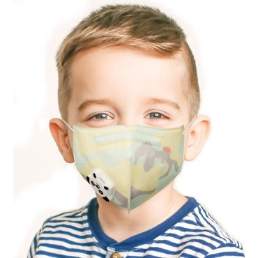 valved kids face mask