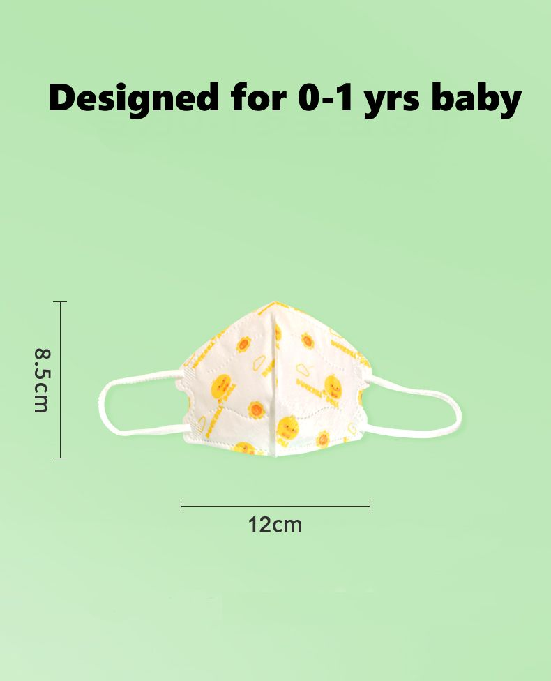 Kids Face Mask 3D FFP2
